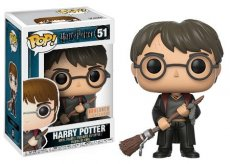 Pop! Harry Potter 51 Harry Potter with firebold and feather