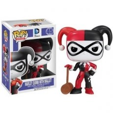 POP! Heroes 45 Harley Quinn with Mallet